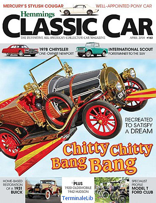 Chitty Chity Bang Bang Featured On Cover Of Hemmings